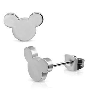 Mouse Stud Earrings